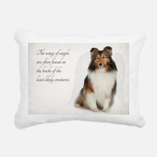 Sheltie Rectangular Canvas Pillow