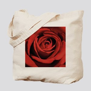 Lovers Red Rose Tote Bag