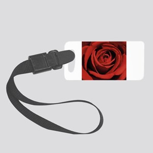 Lovers Red Rose Luggage Tag