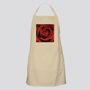 Lovers Red Rose Apron