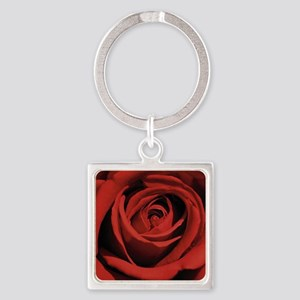 Lovers Red Rose Keychains
