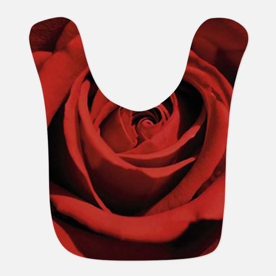 Lovers Red Rose Bib