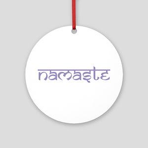 Namaste, Yoga Ornament (Round)