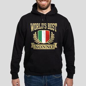 World's Best Nonno Hoodie (dark)