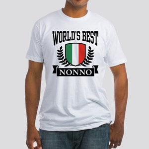 World's Best Nonno Fitted T-Shirt