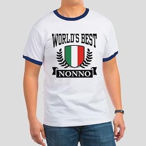 World's Best Nonno Ringer T