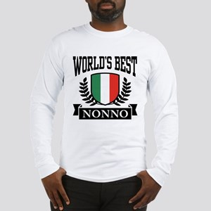 World's Best Nonno Long Sleeve T-Shirt
