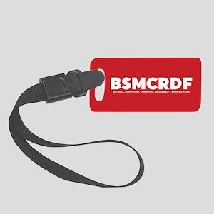Black-ish BSMCRDF Luggage Tag