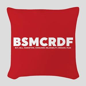 Black-ish BSMCRDF Woven Throw Pillow