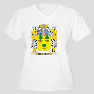 Booger Coat of Arms - Family Cre Plus Size T-Shirt