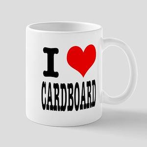 I Heart (Love) Cardboard Mug