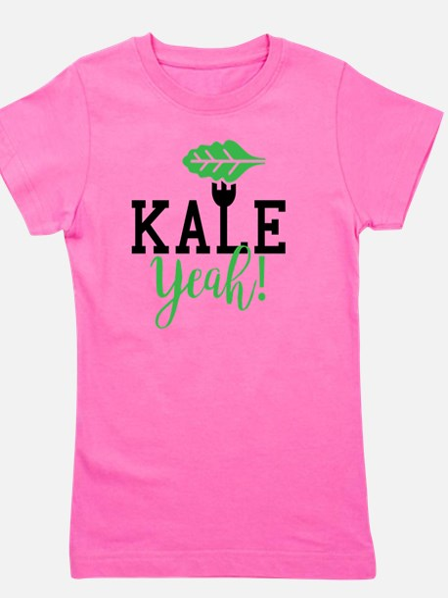 Cute Kale Girl's Tee