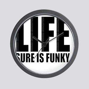 Life is Funky Wall Clock
