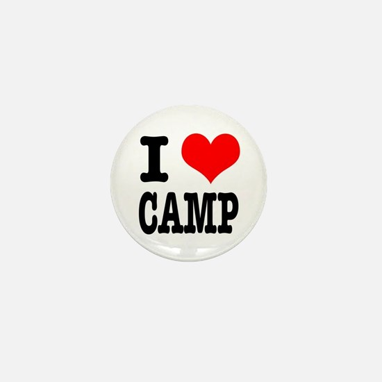 I Heart (Love) Camp Mini Button