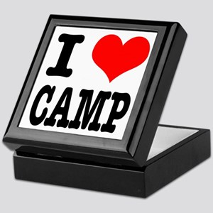 I Heart (Love) Camp Keepsake Box