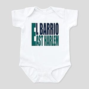"""Click Here"" East Harlem Logo Infant Bodysuit"