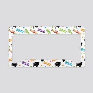 2020 Graduation Class License Plate Holder