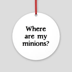 minions Ornament (Round)