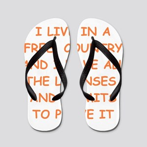 FREE country Flip Flops