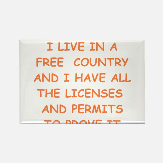 FREE country Magnets