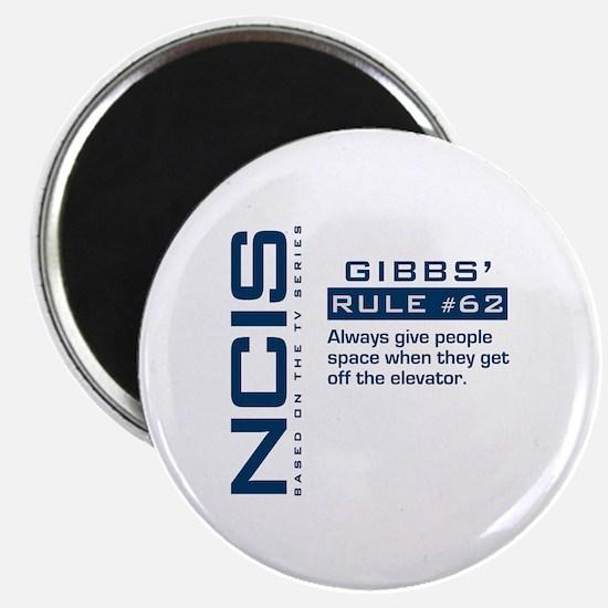 """Gibbs' Rule #62 2.25"""" Magnet (10 pack)"""