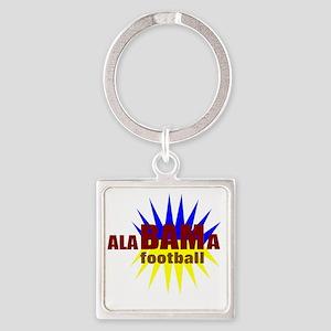 Alabama football Square Keychain