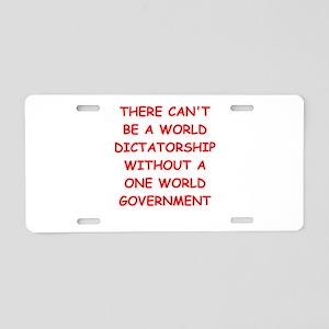 GOVERNMENT2 Aluminum License Plate