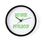 Ghost Hunters Do It Wall Clock