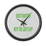 Ghost Hunters Do It Large Wall Clock
