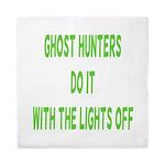 Ghost Hunters Do It Queen Duvet