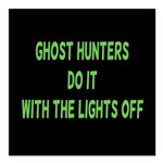 Ghost Hunters Do It Square Car Magnet 3