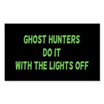 Ghost Hunters Do It Sticker (Rectangle 10 pk)
