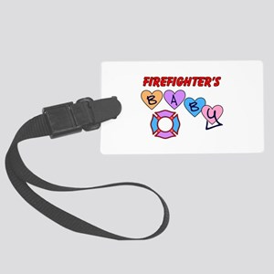 Firefighters Baby Luggage Tag