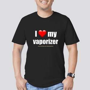 """Love My Vaporizer"" Men's Fitted T-Shirt (dark)"