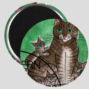 Vintage 1990 Switzerland Cats Postage Stamp Magnet