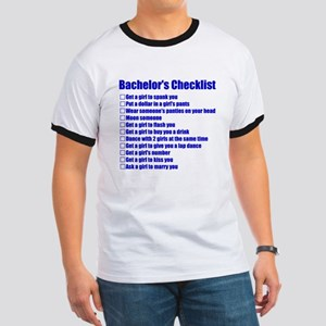Bachelors Checklist T-Shirt