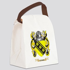 Lowe Coat of Arms - Family Crest Canvas Lunch Bag