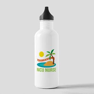 Retired NICU Nurse Stainless Water Bottle 1.0L