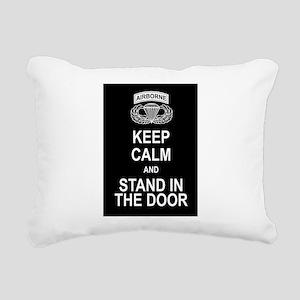 Airborne Rectangular Canvas Pillow