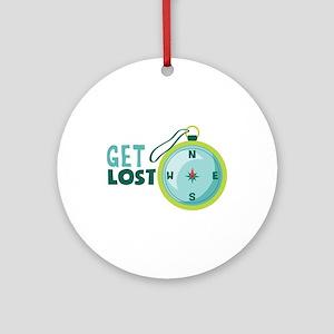 get lost Ornament (Round)