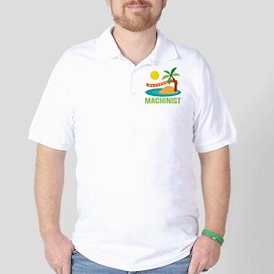 Retired Machinist Golf Shirt