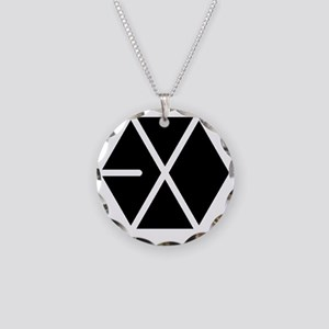 EXO Necklace Circle Charm