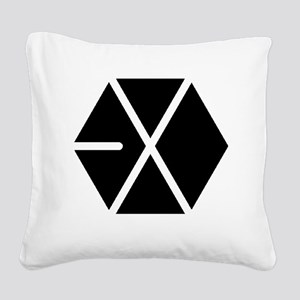 EXO Square Canvas Pillow