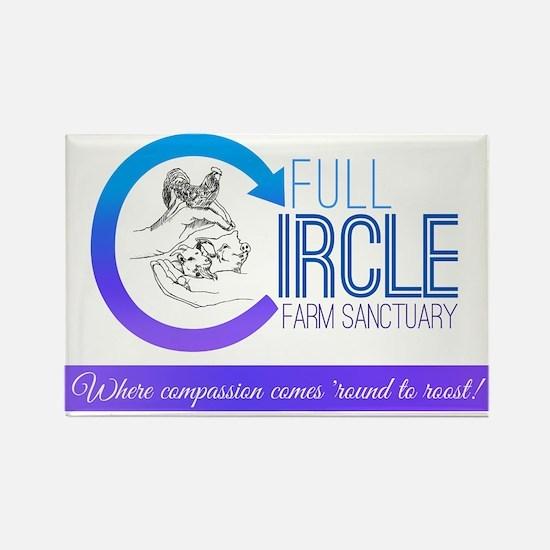 Full Circle Farm Sanctuary Logo Magnets
