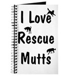 I Love Rescue Mutts Journal