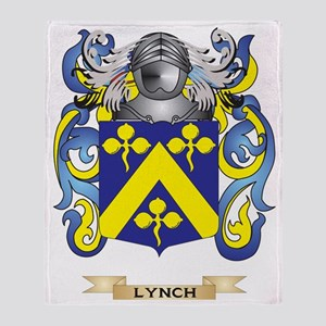 Lynch Coat of Arms - Family Crest Throw Blanket