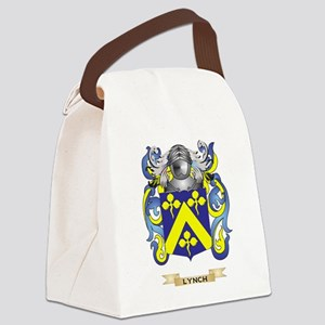 Lynch Coat of Arms - Family Crest Canvas Lunch Bag
