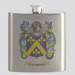 Lynch Coat of Arms - Family Crest Flask
