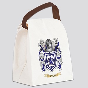 Lyon Coat of Arms - Family Crest Canvas Lunch Bag