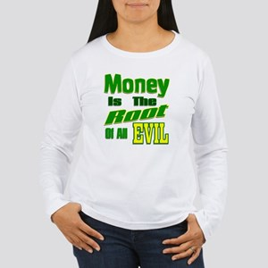 Green Money is the Roo Women's Long Sleeve T-Shirt